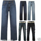 MENS STRETCH FASHION TRENDY STRAIGHT LEG CASUAL POCKETS CARGO DENIM JEANS PANTS