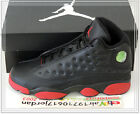 2014 Nike Air Jordan Retro 13 XIII GS Black Gym Red Bred 414574-033 US 4.5Y & 5Y