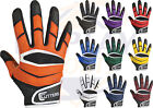 Cutters X40 C-Tack Revolution Football Receiver Gloves Different Colors & Sizes