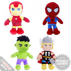 Marvel Super Heroes Plush Toys - Gift Colect Them All Soft Toys Cool Cute Boys