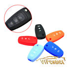 Key Case Cover Car Silicone Skin Fob Shell For Ford Fiesta Focus Mondeo 3 Button
