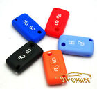 Silicone Flip Remote Key Case Cover Fob Shell For Citroen C3 C4 C5 C6 C8 2Button