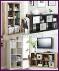 Organizer 8 Cube Multiple Versatile Storage Book Shelves Eight Square Bookcase