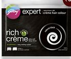 GODREJ HERBAL CREAM HAIR DYE READY TO USE FREE SHAMPOO NO AMMONIA Unisex permene