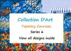 PRE-SALE ~ Choice of Collection D'Art Tapestry Canvases 30 x 40cm - Med ~ 6 - 1