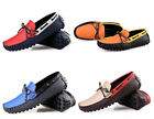 Mens loafer Casual shoes slip on moccasin-gommino fashion driving shoes New