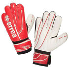 Errea Warrior Evo Goalkeeper Goalie Gloves Red White Sizes from 8 to 11