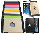 Shockproof Armor Heavy Duty Hybrid Hard Silicone Cover Case For iPad Mini1/2/3