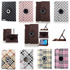 360 Rotating For Apple iPad 2/3/4 Air Mini 1/2/3 Smart Cover Leather Case Stand