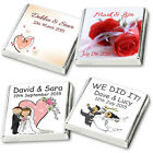 450 Personalised Chocolate Wedding & Party Favours, 2017 Collection, READY MADE