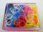 500PCS Hair Rubber Bands Ponytail Elastic Girl Baby Dog