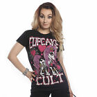 CUPCAKE CULT PONY MUERTE LADIES T SHIRT MY LITTLE GOTHIC EMO POIZEN NEW CARTOON