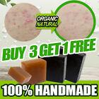 100% HANDMADE Organic Natural Soap Acne treatment Safety Whitening Baby Soap