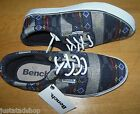 Bench boy shoes plimsolls canvas trainers 5.5 UK, 38.5 EU New  BNWT