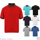 BRAND NEW MENS BOYS CASUAL ADULT LEISURE POLY COTTON POLO SHIRT T SHIRTS TEE TOP