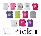 NIKE T SHIRT TEE TOP LITTLE GIRLS KIDS ATHLETIC SPORTS CHILDRENS CLOTHES SUMMER
