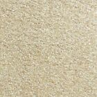 NOBLE SAXONY Almond White Cream Carpet Quality Thick Shag Pile Stain Resistant