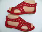 WOMEN'S GLADIATOR THONG SANDALS SIZES: 5-10 RED