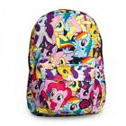 Licensed My Little Pony Multi School Backpack Girls Twilight Rainbow Unicorn Bag