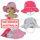 Girl Kids Toddler Baby Cotton Floral Flower Bell Bucket Sun Hat Size Adjustable