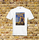 Forbidden Planet Sci Fi Film T Shirt Black or White or Red