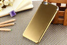 New Aluminum Slim Metal Brush Cover Phone Housing Shell case for iPhone 6& 5.5""