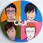 "Blur - Best of - 12"" LP Vinyl Record Clock from The Record's Ticking, parklife,"