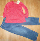 Fixoni girl outfit set top tunic & jeans 2 y 12-18-24 m, 3-4 y BNWT designer