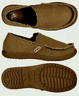 $55 Crocs Men's Kaleb Loafer Chocolate / Chocolate Size US 7 8 9 10 11 12 13