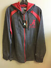 University of Alabama Men's Dark Grey Zip-Up Jacket