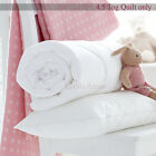 ANTI-ALLERGY COT BED DUVET QUILT + PILLOW NURSERY BABY TODDLER JUNIOR FREE POST <br/> AVAILABLE QUILT TOG 4.5, 7.5 &amp; 9.0 DUVET &amp; COT PILLOW
