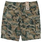 Levi's NEW Men's Camo Relaxed Fit Cargo I Shorts MSRP $50