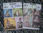 Patterns Books Knit Crochet Sewing Baby Adult Costume