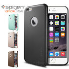 """Genuine Spigen Premium Synthetic Leather Fit Case Cover for Apple iPhone 6(4.7"""")"""