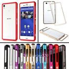 Luxury Aluminum Metal Bumper Frame Cover Case For Sony Xperia Z2 Z3 / Z3 Compact