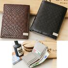 Man Medium Wallet Man Bifold Wallet Card Bill Wallet Men Wallet Cow Leather 1168