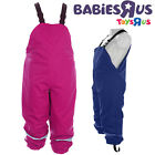 Kids Waterproof Rain Puddle Dungarees Child Breathable Trousers Casual Rainsuit