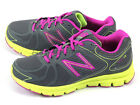 New Balance NB W690YG3 D 2015 Breathable Running Sneakers Dark Grey/Fuchsia/Lime
