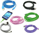 2M EXTRA LONG BRAIDED DATA CHARGING CABLE FOR SAMSUNG GALAXY S3 S4 HTC One M8 LG