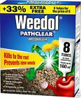Pathclear Weedkiller for Paths & Drives 3 ~ 6 (+2 Free Tubes = 8) ~ 12 Tubes
