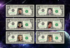 STAR TREK REAL DOLLAR BILL TOS DS9 Voyager Enterprise Next Generation Cash Money