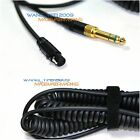 Replacement Coiled Headphones Cable Wire Line For KAM HP1 Reference DJ Headphone