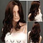 New Fashion Ladies' Parted Bangs Full Long Curly Wig Cosplay Party Hair Wig Gift