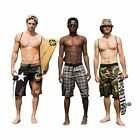 HG Leonardo- 3 Piece Beach Set: Boardshorts Quick Dry Technology,Towel & Gymsack