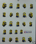 Nail art / water transfer stickers. DESPICABLE ME. UK SELLER. FREE P&P