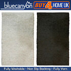 Blue Canyon Glimmer Bathmats - Fully Washable Non Slip Bath Mat - 60 x 90 cm