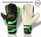 GK Saver Football Goalkeeper Cool 01 Flat Cut Gloves Finger Save Goalie Gloves