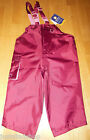 Hippychick baby girl waterproofs dungarees 18-24 m 2 y BNWT all-in-one