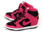 Nike Wmns Dunk Sky Hi Essential Fashion Wedges Black/Fireberry-White 644877-010