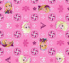 Disney Frozen Sisters Cotton Fabric by Springs Creative! Olaf,  Anna,